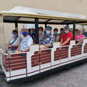 Petit train touristique à Riquewihr