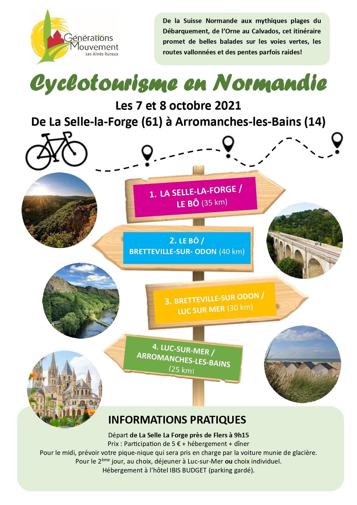 Cyclotourisme normandie page 0001